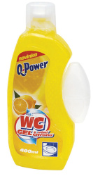 Q-Power WC gel  -  citron / 400 ml